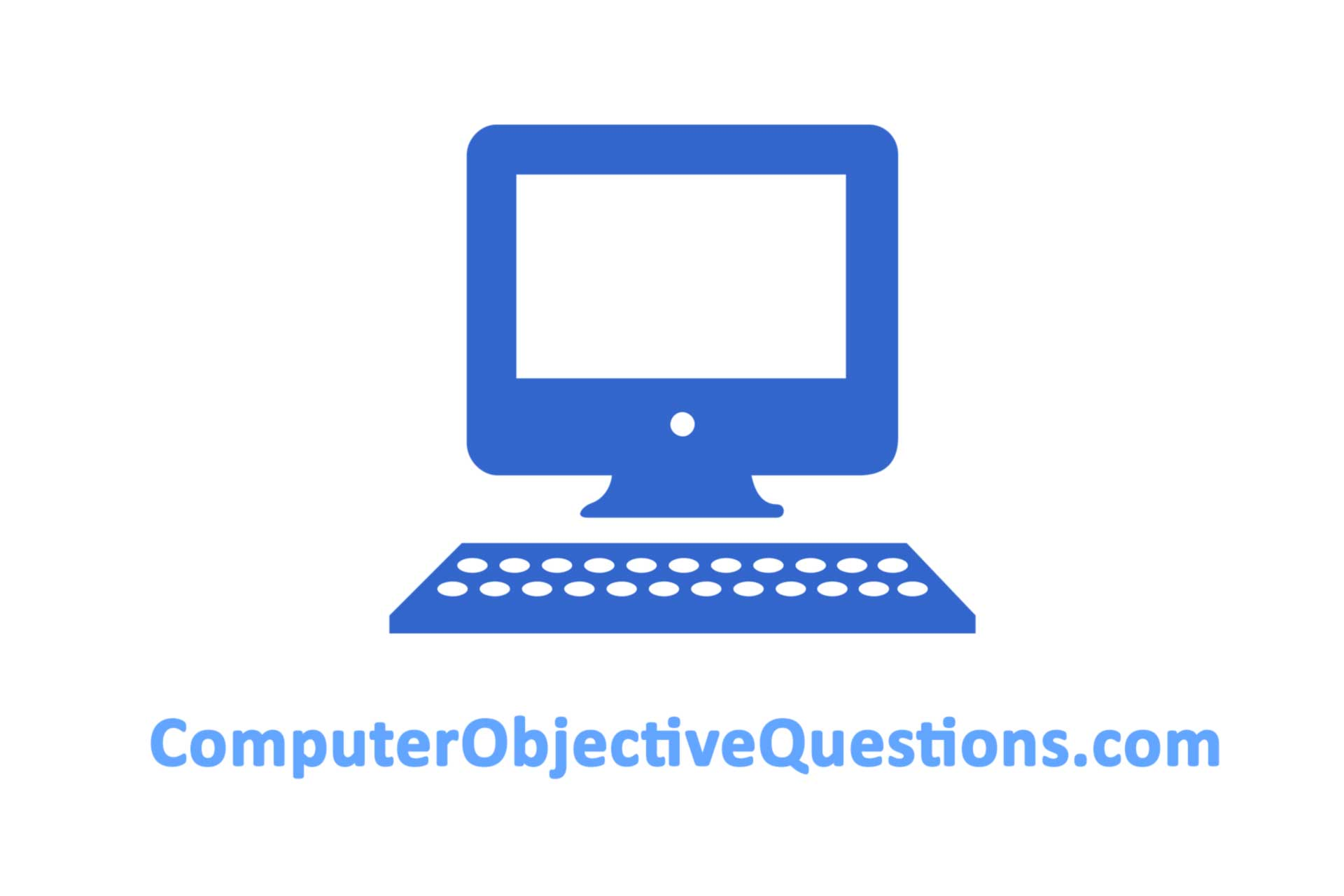 computer objective questions